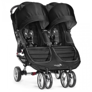 BABY JOGGER city mini Double - Black/Gray 2015