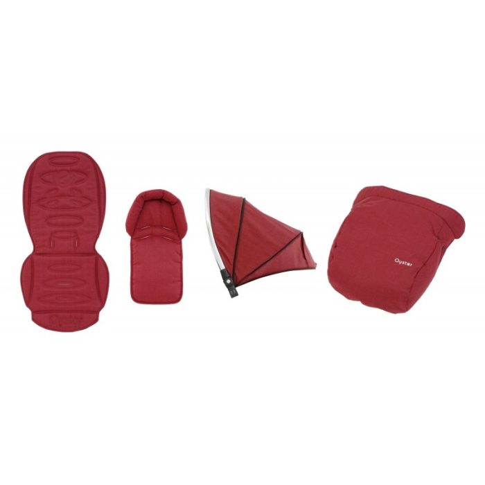 BabyStyle Oyster 2/Max textilný set Tango Red 2019